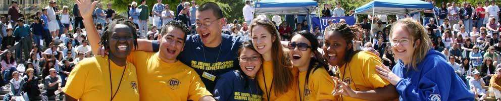to meet peers at UC Irvine  Uc Irvine Students